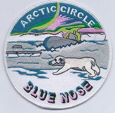 Blue Nose Arctic Circle BC Patch Cat No C6104
