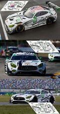 Decals Mercedes AMG GT3 IMSA 2017 1:32 1:43 1:24 1:18 Daytona Sebring calcas