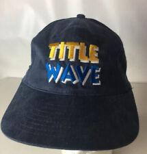 Vintage 1997 Oscar DE LA HOYA Hat Cap TITLE WAVE Boxing Wilfredo Rivera Rare