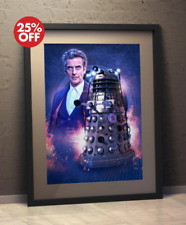Doctor Who 12th Doctor Who-Peter CAPALDI e Rusty il Dalek-POSTER A3