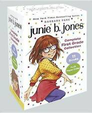 Junie B. Jones Complete First Grade Collection: Books 18-28 with paper dolls in