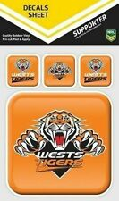 NRL West Tigers Outdoor UV App Icon Car Tattoo Sticker Sheet Decal iTag