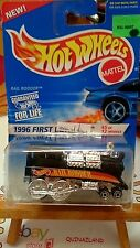 Hot Wheels First Editions Rail Rodder 1996-370 intèrieur chrome (9990)