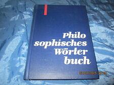 Philosophisches Wörterbuch , VEB Bibliographisches Institut / Leipzig , DDR 1965