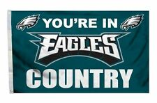 Philadelphia Eagles 3x5 Country Design Flag [New] Nfl Banner Sign Fan Wall House