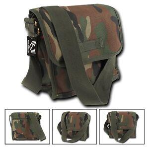 Rapid Dominance Cotton Canvas Satchel Field Messenger Bag Crossbody Backpack