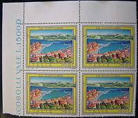 1991 Italia cuarteto Turismo La Magdalena 600 liras MNh