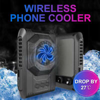 Mobile Phone Game Cooler Rechargeable Cooling Fan Radiator Fan for Android ios P
