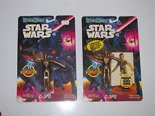 1993 Justoys Star Wars Bend 'Em C-3Po Limited Edition w/ Trading Card, Moc
