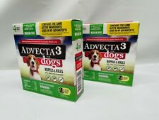 Advecta Iii Flea Drops for Dog (8) months supply, Medium Dogs 11-20 pounds