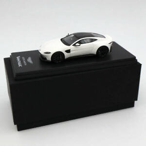 1/43 Models Aston Martin Vantage 2018 White Resin Limited Edition Collection