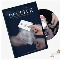 Deceive (Gimmick Material Included) by SansMinds - Card Magic Trick,Close Up,Fun