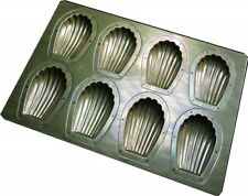Chiyoda 8 Cups Madeleine Pan Sponge Shell Cake Baking Tray Mould silicon F/S