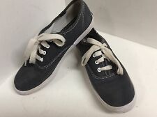 Keds girls athletic shoes navy white size 3 M lace up F54