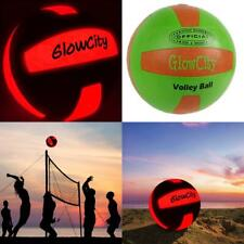Light up LED Volleyball, Much Brighter Than Glow In The Dark! Regulation...
