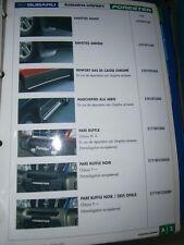 Subaru : Catalogue ACCESSOIRES - Forester - Impreza - Justy - Legacy