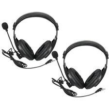 2x 2-Pin VOX PTT Headset Earpiece For Baofeng UV5R UV8/Kenwood H777 2Way Radio