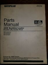 CAT CATERPILLAR 420E BACKHOE LOADER PARTS MANUAL S/N KMW THP