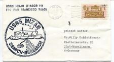 1977 U.S. Navy Mizar San Francisco Research Polar Antarctic Cover