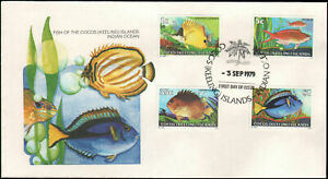 Fish 1979 Cocos Keeling Island FDC First Day Cover