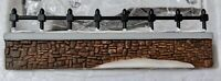 Heritage Village Collection Dept 56 Porcelain Churchyard Fence Extensions In Box