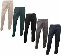 REGATTA - MEN'S ACTION TROUSERS - Water Repellent, Knee Patches, Various Colours
