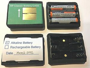 Alkaline Hewlett Packard Calculator Battery CASE  HP 35, 45, 55, 65, 67, and 80