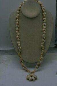 Natural Cowrie Puka Sea Shell Necklace E2
