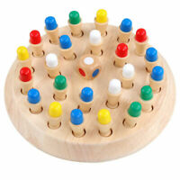 Wooden Memory Match Stick Chess Game Children Kids Early Puzzle Educational Gift