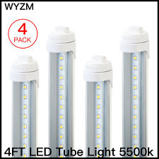 10 Pack T8 LED Tube LightS 4FT 20W Replace Fluorescent 5500k R17D Clear Cover