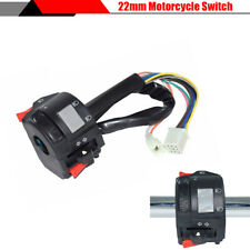 """7/8"""" 22MM Motorcycle Dirt Bike Handlebar Multifunction ON OFF Switch Control"""