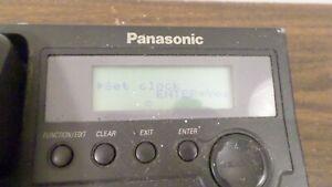 Vintage Panasonic 2 Line Telephone Model KX-TS3282B
