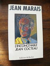 Jean Marais : l'inconcevable Jean Cocteau - éditions du Rocher