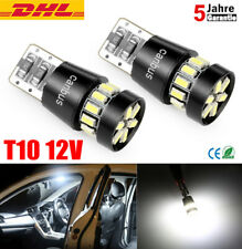 2x T10 SMD 24 LED CANBUS Auto Standlicht Birnen Innenraum beleuchtung Lampen 12V