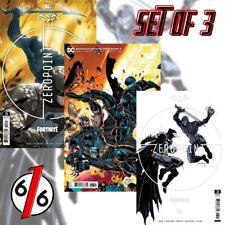 🚨🦇 Batman Fortnite Zero Point #3 Set Of 3 Janin A & Lee B & Premium Variant