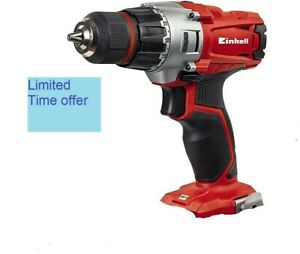EINHELL TE-CD 18/2 LI-I 18v drill driver 10mm keyless chuck BODY ONLY