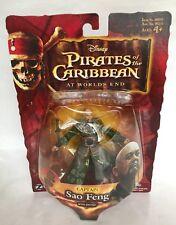 "Zizzle Captain Sao Feng 4"" Action Figure Disney Pirates Of The Caribbean  ""NEW"""