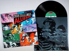 Crosby, Stills, and Nash - Allies (1983) Vinyl LP •PLAY-GRADED• Stephen & David