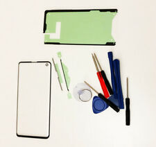 Samsung Galaxy S10 Front Glass Screen Lens Replacement Repair Kit BLACK