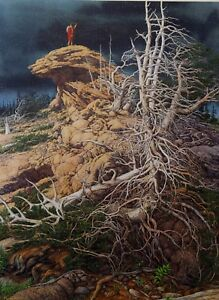 """Bev Doolittle, """"Prayer for the Wild Things"""" S/N LE Lithograph"""