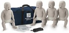 Prestan AED CPR Training Manikins 4 Pack INFANT Light Skin PP-IM-400