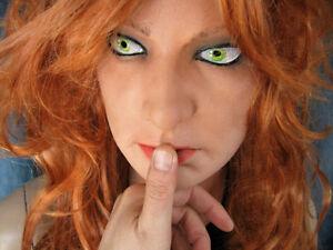 Latex Mask SCARLETT +EYES +WIG - Real. Female Woman Face Crossdressing Sissy