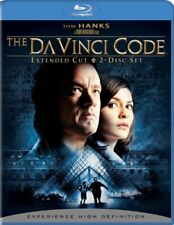 The Da Vinci Code (Two-Disc Extended Edition + Bd Live) [Blu-ray] Used!