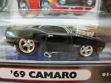 MUSCLE MACHINES (1969) '69 CHEVY CAMARO  - SUPERCHARGED - 1/64 DIECAST