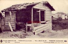 FRANCE GUERRE 1914 - 15 - 16 VERDUN BOMBARDE L'OCTROI