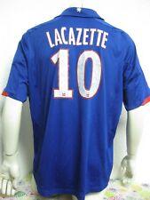 Ancien MAILLOT ADIDAS OLYMPIQUE LYONNAIS OL #10 ALEXANDRE LACAZETTE Jersey Shirt