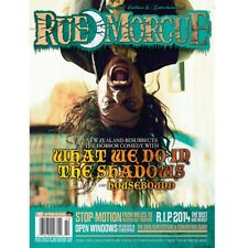 RUE MORGUE MAGAZINE #152 JAN 2015 ROOMMATES OF THE NIGHT & MONSTERS IN MOTION
