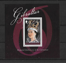 Gibraltar 2013 Diamond Anniv of the Coronation MS   MNH