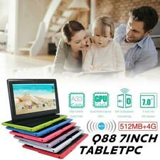 """7"""" Inch Kids Student Tablet PC 4GB Quad Core Android Dual Camera Wifi G-sensor"""