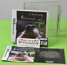 Dream pinball 3d NDS Nintendo DS OVP